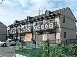 フラワーハイツA,B[1階]の外観