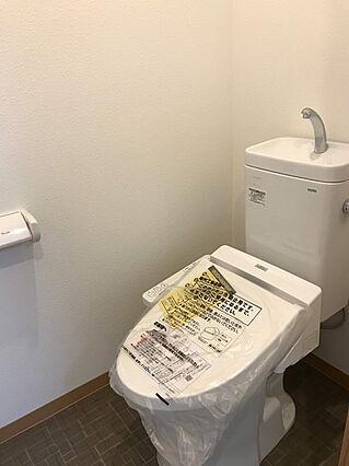 トイレも新品