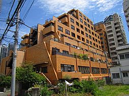 ライオンズマンション西新宿 初台5分の外観タイル貼りの分譲タ[4階]の外観