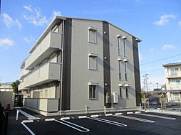 愛知県安城市安城町天草の賃貸アパートの外観