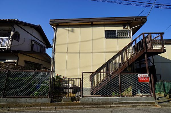 千葉県千葉市中央区松波4丁目の賃貸アパートの外観