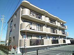 静岡県袋井市堀越の賃貸マンションの外観