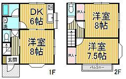 [テラスハウス] 神奈川県鎌倉市雪ノ下4丁目 の賃貸【/】の間取り