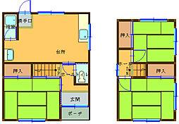 [一戸建] 兵庫県姫路市北今宿3 の賃貸【/】の間取り