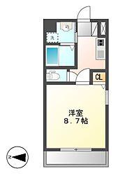 丹下キアーロ[2階]の間取り
