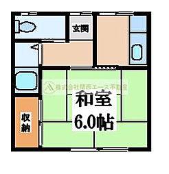 芙蓉荘[2階]の間取り