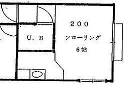 宮の東ハイツ[200号室号室]の間取り