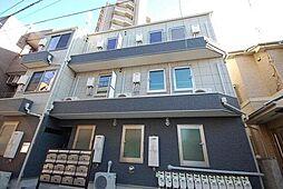 東京都葛飾区東金町3丁目の賃貸アパートの外観