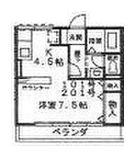 シオンII[2階]の間取り