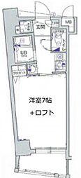エステムコート新大阪IIIステーションプラザ[6階]の間取り