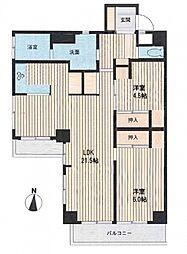 アビタシオンクレール bt[305kk号室]の間取り