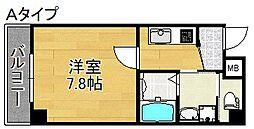 TOYOTOMI STAY PREMIUM NAGAHASH 6階1Kの間取り