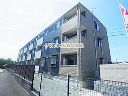 神奈川県厚木市下津古久の賃貸アパートの外観
