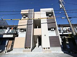 アップルハイム[1階]の外観