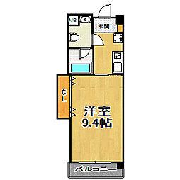 WOB塚本[507号室]の間取り