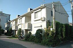 大阪府茨木市星見町の賃貸アパートの外観