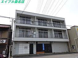 三重県桑名市大字西別所の賃貸マンションの外観