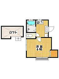 マインドハウス[2階]の間取り