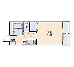メゾン21[1階]の間取り
