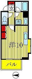 リバービュー21[3階]の間取り