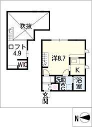 プリマグランデ安城弐番館[2階]の間取り