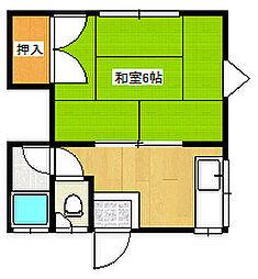 梅林駅 1.5万円