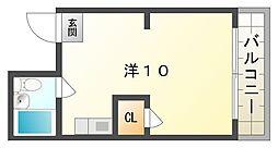 シルフィード守口[3階]の間取り