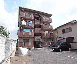 京都府八幡市八幡三本橋の賃貸マンションの外観