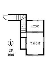 203701 手塚邸[201号室]の間取り