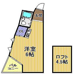 HALビル[5階]の間取り