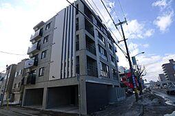 北海道札幌市豊平区平岸四条10丁目の賃貸マンションの外観