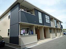 岡山県倉敷市北畝6の賃貸アパートの外観