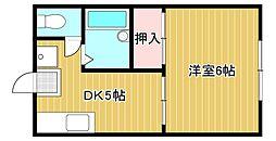 ARK五個荘I・II[2階]の間取り