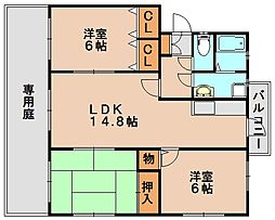 高義ビル3[3階]の間取り