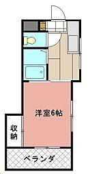 SHATORE SANGAMORI[303号室]の間取り