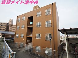三重県津市大谷町の賃貸マンションの外観