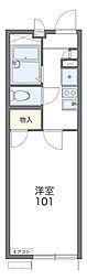 南海高野線 大阪狭山市駅 徒歩13分の賃貸アパート 1階1Kの間取り