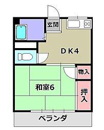 河辺駅 3.3万円