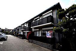 兵庫県宝塚市山本野里1丁目の賃貸アパートの外観