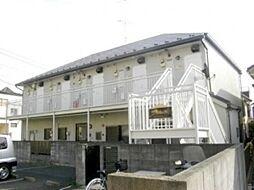 東京都目黒区目黒本町1丁目の賃貸アパートの外観