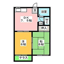 【敷金礼金0円!】フォーブル浅井B