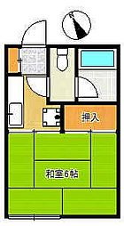 マロンハウス[2階]の間取り