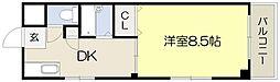 大阪府吹田市泉町2丁目の賃貸マンションの間取り