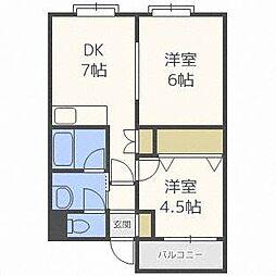 N11[4階]の間取り