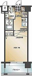 エンクレスト博多2[12階]の間取り