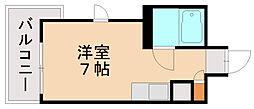 ロマネスク美野島[6階]の間取り