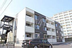 福岡県福津市中央2丁目の賃貸アパートの外観