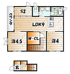 ラ・グローリア[2階]の間取り