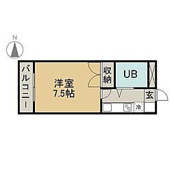 桜ヶ丘小野ビル[4階]の間取り