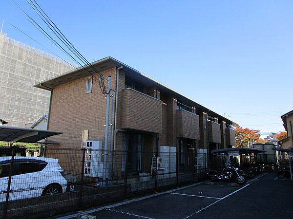 兵庫県三田市中町の賃貸アパートの外観